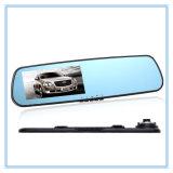 4.3 Zoll1080p Rearview-Spiegel-Kamera mit zwei Kameraobjektiv
