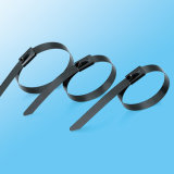 Ss 304, 316 ataduras de cables del metal del acero inoxidable