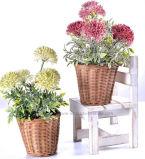 Künstlicher gespritzter Hydrangea-Chrysantheme-Blumenstrauß für alle allgemeine Dekoration