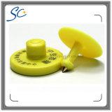 134.2kHz RFIDの動物の識別円形の牛耳札