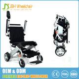軽量のモーターを備えられた折るアルミニウム電動車椅子