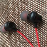 fone de ouvido estereofónico da em-Orelha de 3.5mm com o fone de ouvido baixo pesado de alta fidelidade do Mic 1.2m com o Earbuds para Smartphones