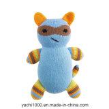 Usine faisant de divers jouets tricotés de peluche