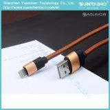 Новый быстрый поручая кожаный кабель USB для iPhone5 5s 6 6s 7