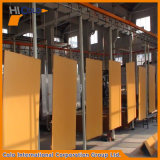 알루미늄 합금 문을%s 높은 생산 분말 코팅 플랜트