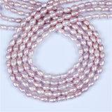 Пурпуровая оптовая продажа стренги перлы риса