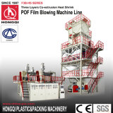 Personnalisé POF Trois couches Coextrusion Heat Shrink Film Blowing Machine