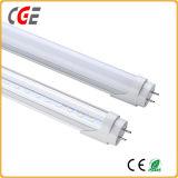 Nano 플라스틱 T8 LED Tuble 빛