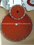 La circulaire de granulation de diamant scie la lame
