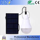 15W indicatore luminoso di campeggio di energia solare LED con la pila solare