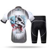 Велосипед Джерси, задействуя одежда, втулки краткости тенниски велосипедиста