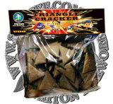 Grosse Dreieck-Cracker-Feuerwerke