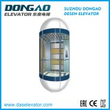 Elevador Sightseeing inoxidável da observação do frame de aço