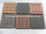 Плитки палубы Recyling/блокируя плитки Decking