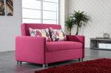 Gefaltetes Sofa-Bett des Wohnzimmer-Freizeit-Gewebe-drei