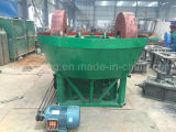 Deux Roller Wet Pan Mill / Gold Ore Wet Pan Mill