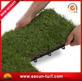 PE 30*30cm PP блокируя искусственную плитку травы