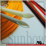 3.0kv de Met een laag bedekte Glasvezel Sleeving van het silicone Hars