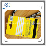 De Plastic Geschikt om gedrukt te worden Kaart RFID van de douane met Magnetische Strook