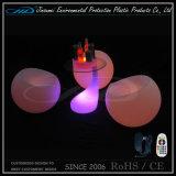 Formende Plastikrotationsmöbel des stab-Stuhl-LED