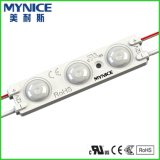 1.5W DC12V dirigono l'iniezione del modanatura dell'ABS dell'indicatore luminoso del modulo del segno del LED