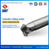 Herramientas de corte CNC Herramienta de fresado de biselado Insertos de carburo combinado Spmt120408 para máquina de torno