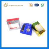 Caja de embalaje del champú con la ventana del PVC (crear para requisitos particulares)