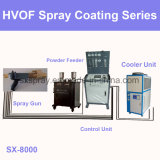 La corrosion d'Oxyfuel Metellic de vitesse élevée de Hvof de carbure du chrome Carte de travail-Co résistent à la poudre de peinture enduisant le matériel de pulvérisation des flammes thermique de machine de dispositif