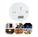 Alarme digital do detector de gás monóxido de carbono da segurança doméstica