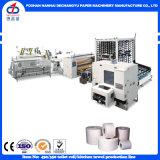 Alta velocidad automático de papel higiénico máquina de la línea de producción