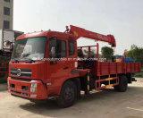 Dongfeng 4X2 6은 선적 기중기 트럭을%s 가진 트럭 10 톤 선회한다