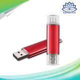 2 em 1 OTG Micro USB Flash Drive 64GB para Android Smart-Phone Tablet Computer