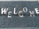 Stuoia antiscorrimento del pavimento della doppia di colore stuoia pulita del piede