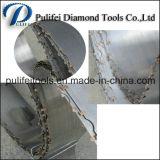 Польза лезвия ленточнопильного станка диаманта на полуавтоматном мраморный автомате для резки металлического листа