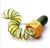부엌 공구 채소 Spiralizer 의 다기능 감자 치한, 실제적인 나선형 저미는 기계, 바나나 저미는 기계는 식물성 과일 (오이 절단기) Esg10202를 완전히 한다