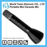 Microfono di condensatore senza fili di karaoke di Bluetooth di mini modo freddo portatile variopinto