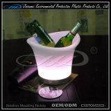 Nachladbare Eis-Wanne der LED-Champagne Wannen-LED