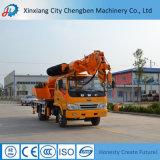 中国の積み込み販売のための6トンブームのトラッククレーン製造業者