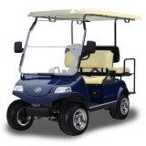 贅沢なシートが付いている電気ゴルフ車