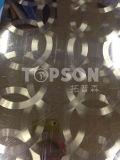 plaque décorative de l'acier inoxydable 201 304 316 avec le fini balayé par circulaire