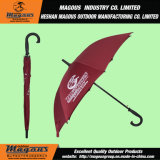 Стальной прямой зонтик ручки