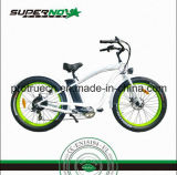 Bicyclette électrique avec la batterie au lithium de selle de silice