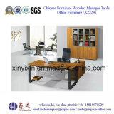 Het moderne Bureau van de Melamine van het Kantoormeubilair Uitvoerende (BF-003#)
