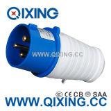IP44 o melhor plugue masculino industrial azul do preço 16A 3p