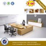 Foshan-Möbel-hölzerner Furnier-Blattbüro-Schreibtisch (HX-6M002)