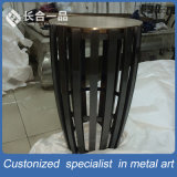 공장 제조 예술 특별한 디자인 둥근 스테인리스 테이블 가구