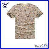Uniforme 100% della maglietta del manicotto di Short del camuffamento del cotone/camicia tattica (SYSG-655)