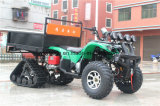 눈 타이어를 가진 전기 농장 250cc ATV