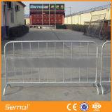 Barreira temporária de estrada temporária de metal galvanizado quente