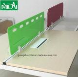 Muebles contemporáneos del sitio de trabajo del escritorio del ordenador de oficina del marco del vector del metal del diseño